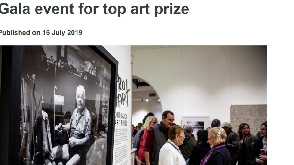 Pro Hart Outback Art Prize,