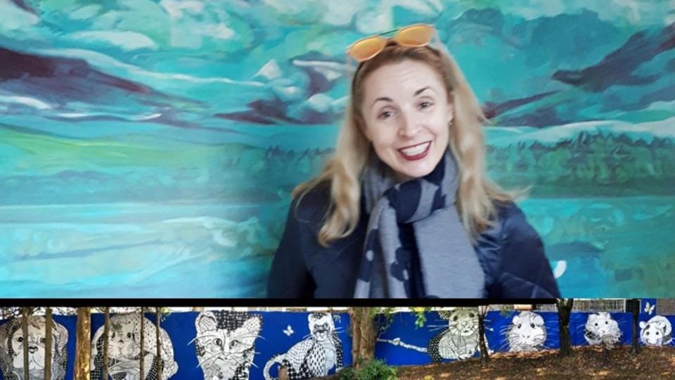 Multitalented International Artist Angela Gooliaff is a Rising Star!