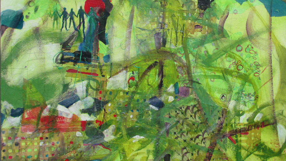 "Lolly Owens ""Art of the Spirit"" Exhibit"