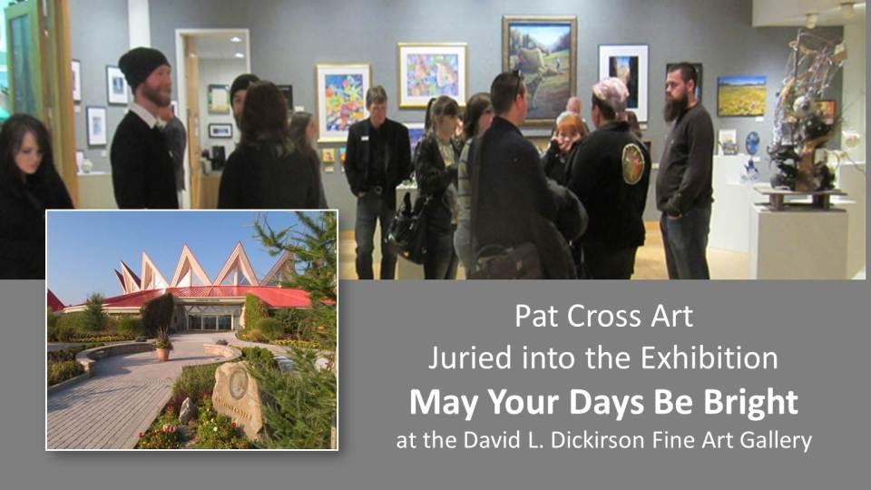 Jurors Select Pat Cross Art into Exhibit