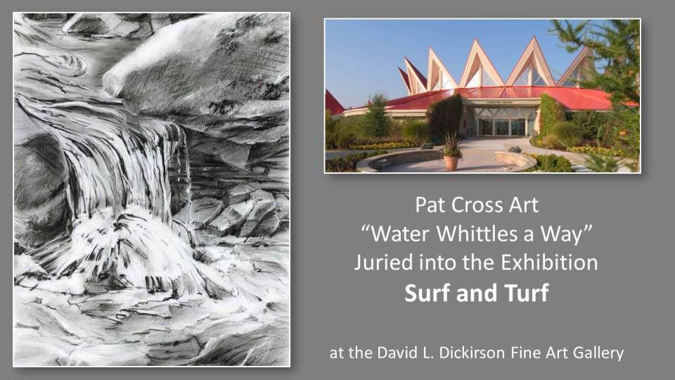 """Pat Cross Art Juried into """"Surf and Turf"""" Show"""