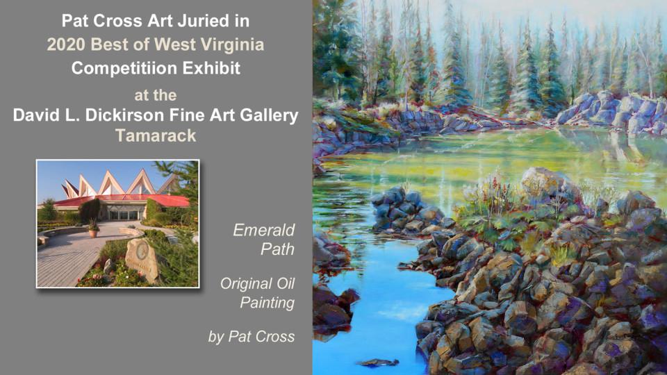 Jurors select Pat Cross Art into Best of West Virginia Exhibit