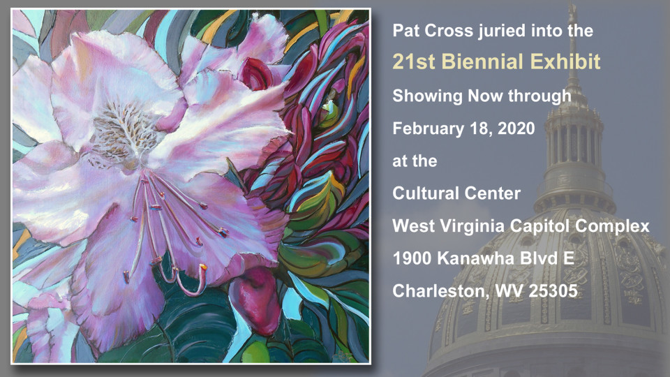 Pat Cross Art Juries into WVDCH Biennial