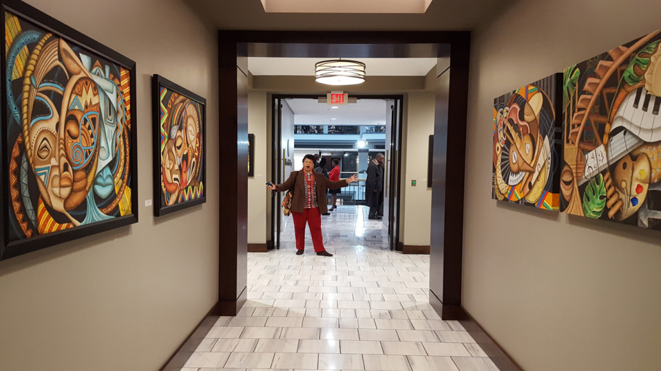 Inaugural Artist for the Mayor's Gallery at Atlanta City Hall