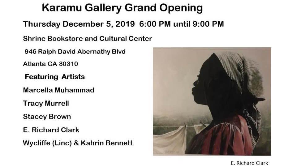 Karamu Grand Opening Exhibit