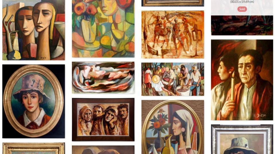 #BOGO SALE or SPECIAL PACKAGE DEALS on 40 DIEGO ARTWORKS