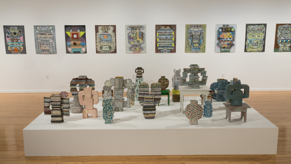 Install shot of Sue Havens: Cull (Photo by Mikayla Whitmore)