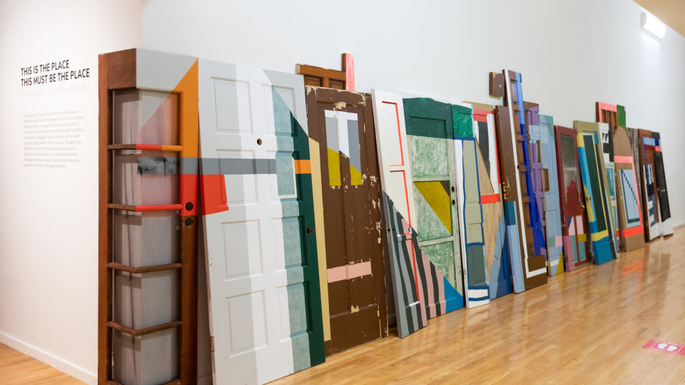 This is the Place, This Must Be the Place. Kyla Hansen's installation view. Photo by Lonnie Timmons III