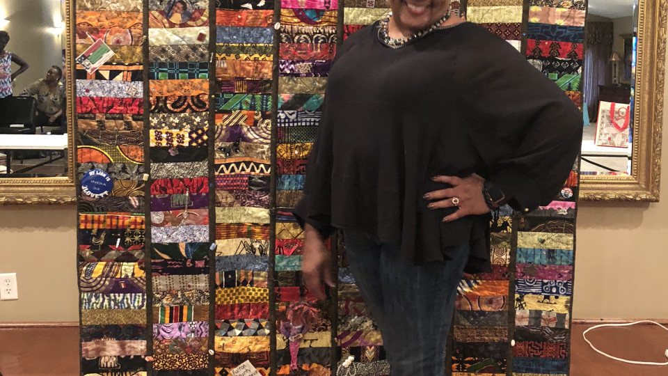 Trunk Show at Cherokee Rose Quilt Guild