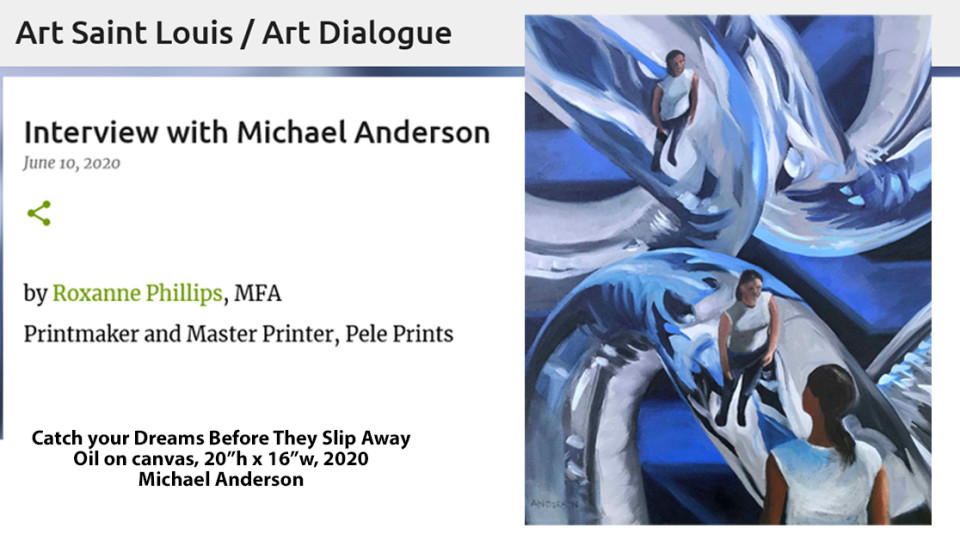 Art Saint Louis/Art Dialogue with artist Roxanne Phillips