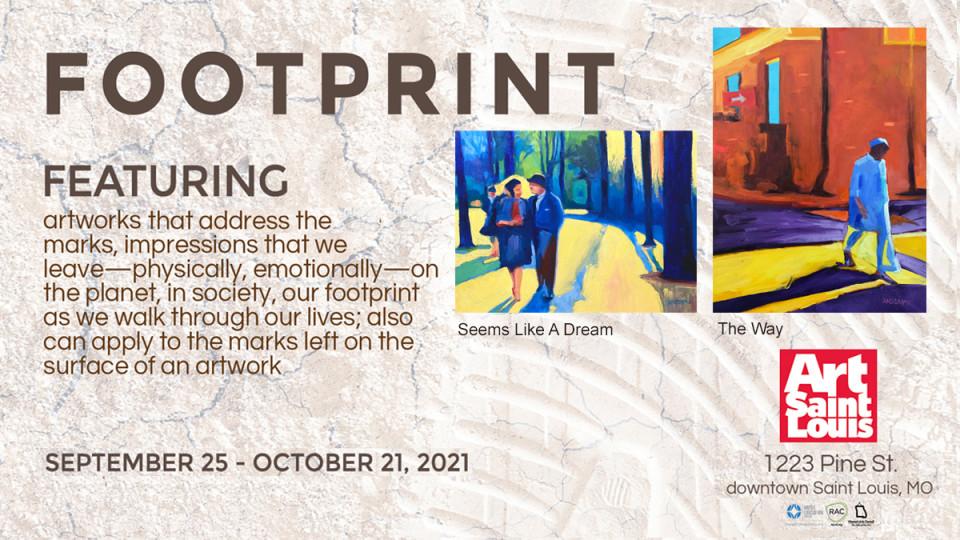 Footprint, Art Saint Louis Gallery Exhibition