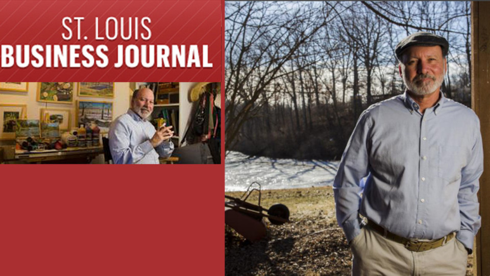 St. Louis Character: Michael Anderson, drawing inspiration