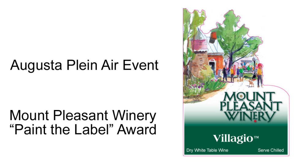 Mount Pleasant Winery introduces new label art