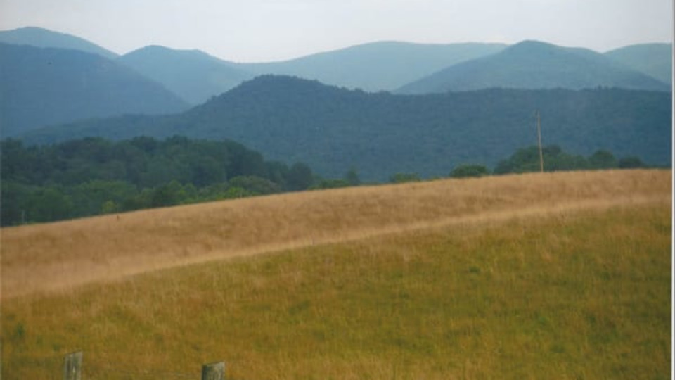 Blue Ridge Mountains by Norma Longo