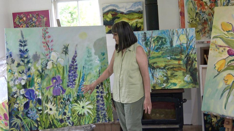 Step Inside my Painting Studio