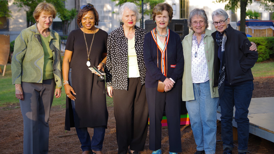 Miriam McClung Honored at the Magic City Art Connection