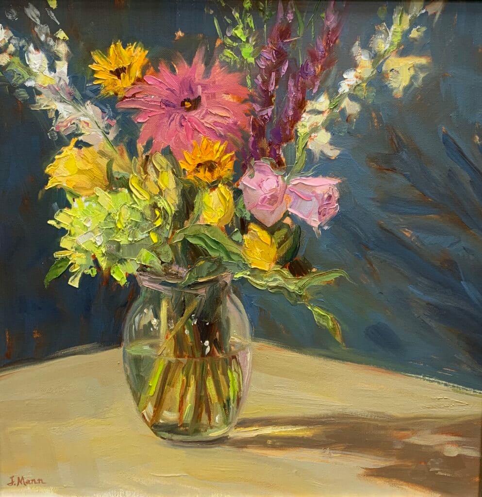 Birthday Bouquet by Julie Mann