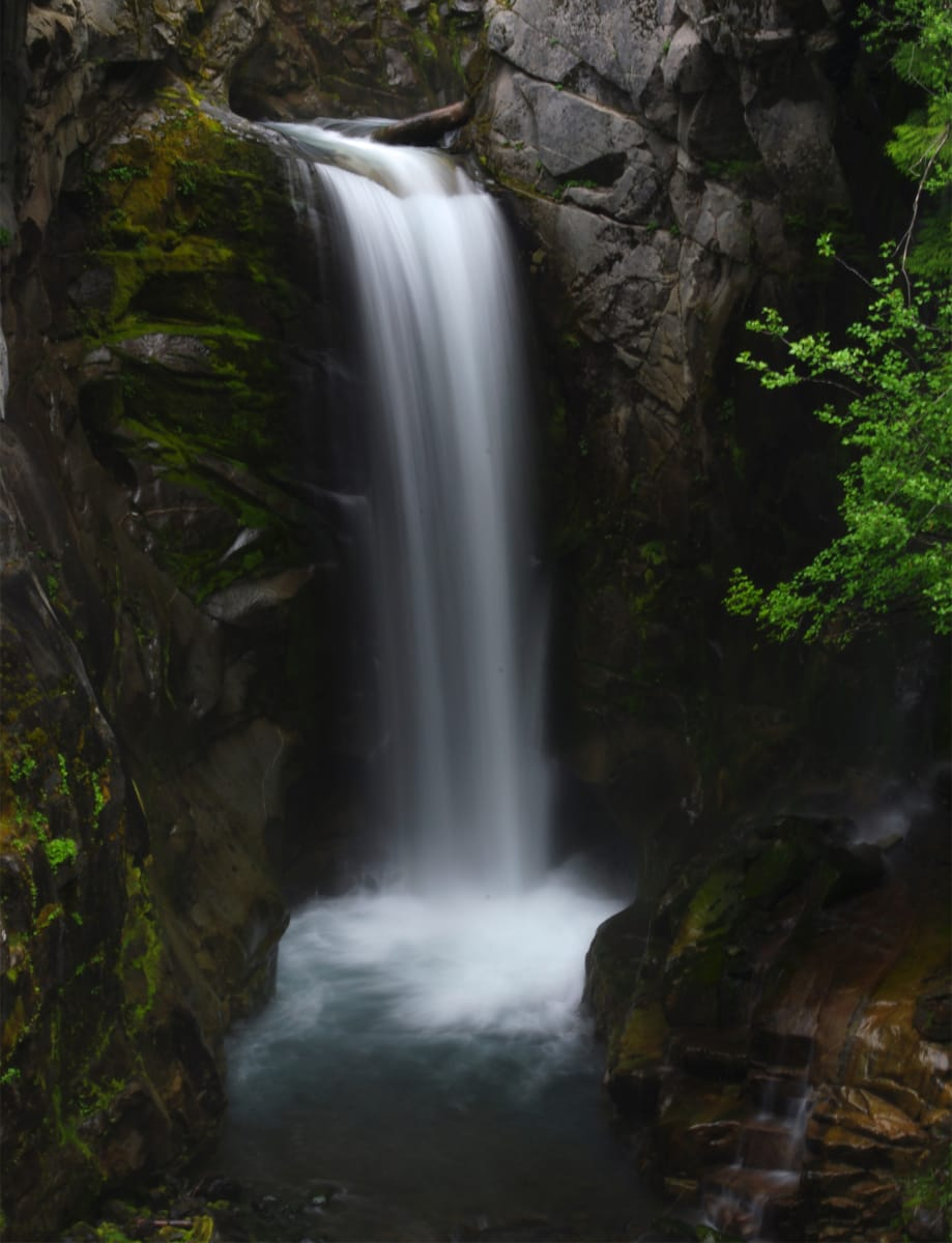 Mt. Rainer Waterfall by Meredith Treadway, RN
