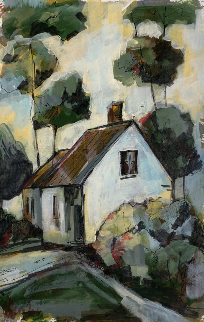 White House by Galina Herndon
