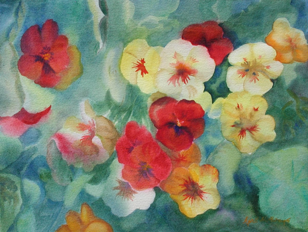 Pansies by April Rimpo