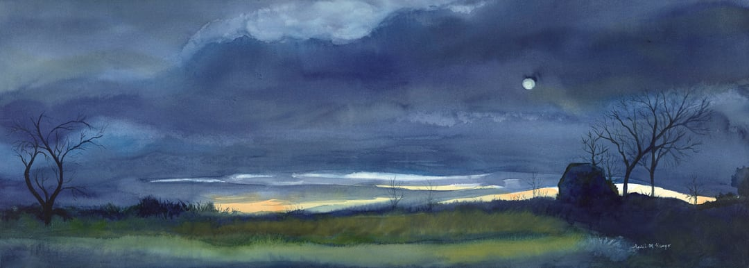 Distant Glow by April Rimpo