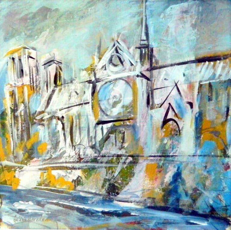Notre Dame de Paris by Galina Herndon
