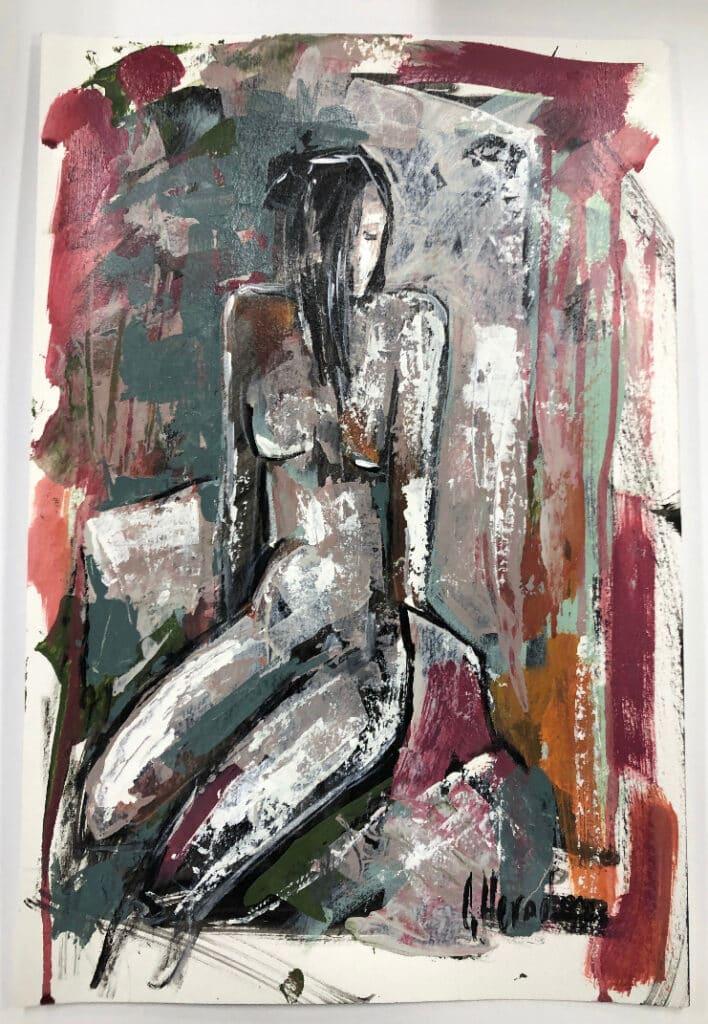 Nude 3 by Galina Herndon