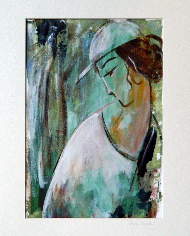 Portrait by Galina Herndon