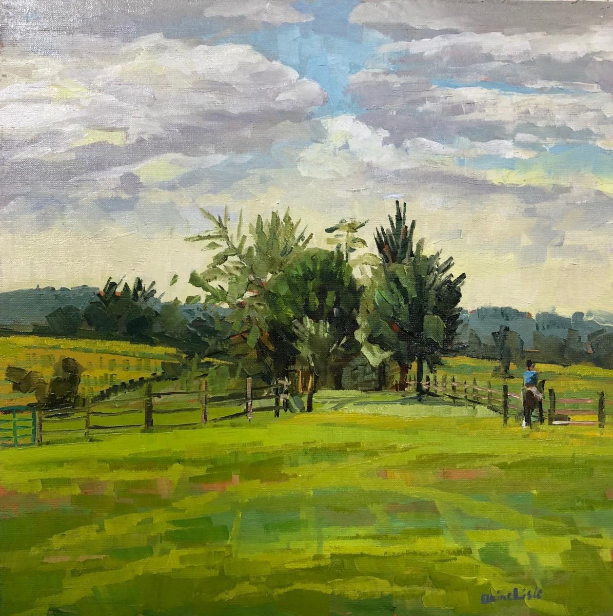 Morning Ride by Elaine Lisle