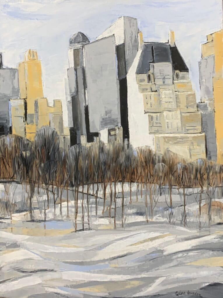 Central Park by Galina Herndon