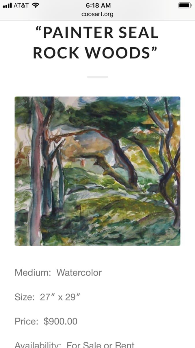Painter Seal Rock Woods