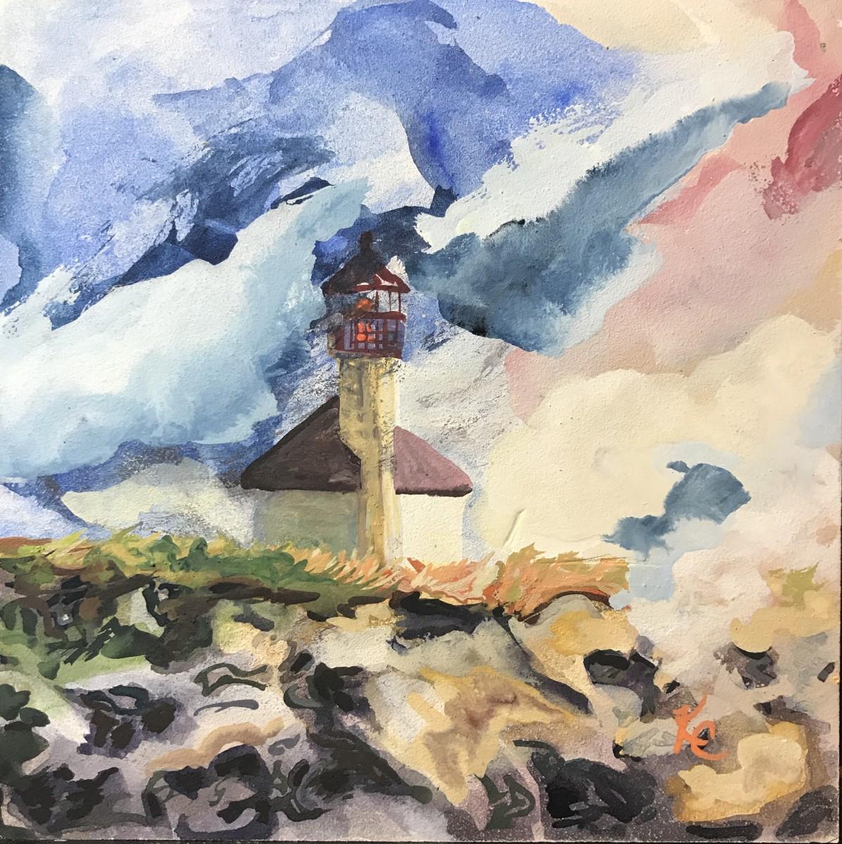136 - Coastal Light-Cape Arago by Katy Cauker