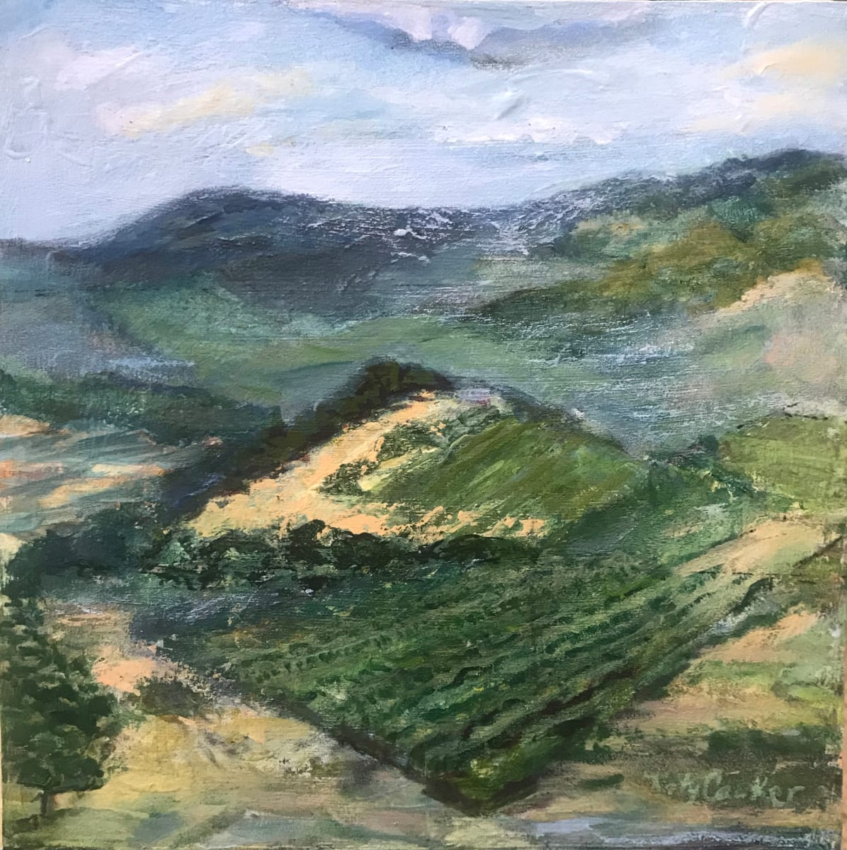652-Carpenter Hill Vineyards/ Selected for a Purchase Award at OSU Art About Agricultural 2020