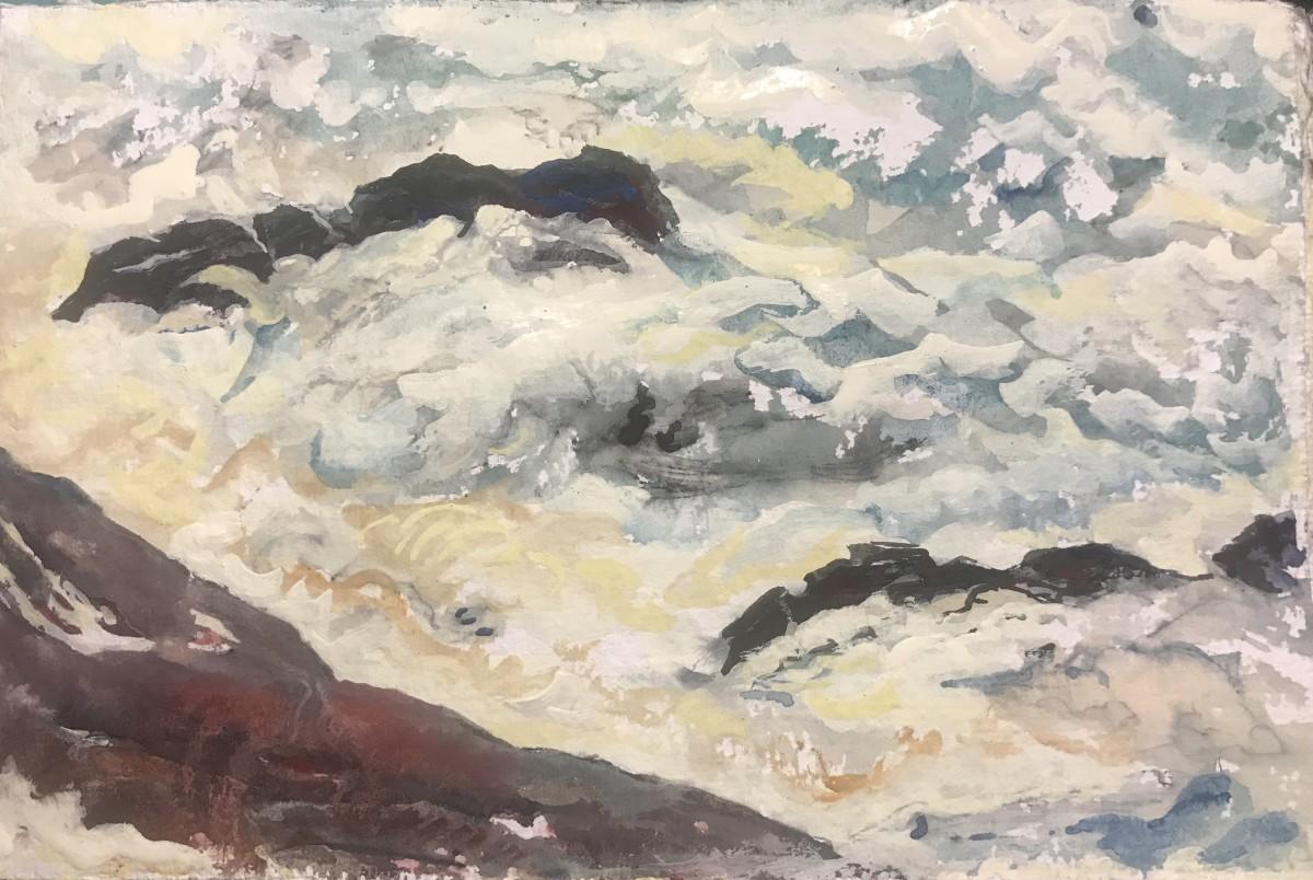 589- Storm Surf - Yachats