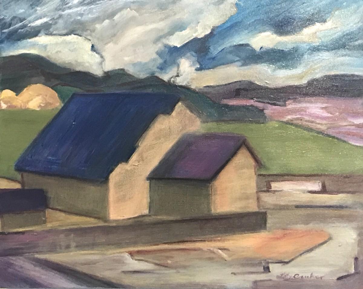 Modern & Old;   Modern Day Old Barns