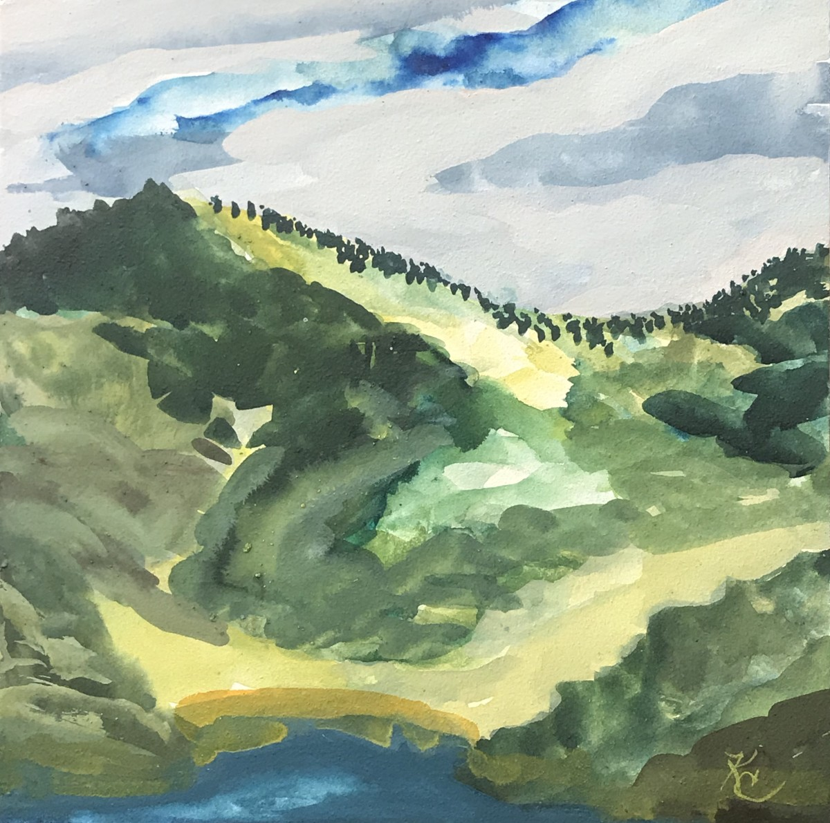 516- NE Hills above Emigrant Lake