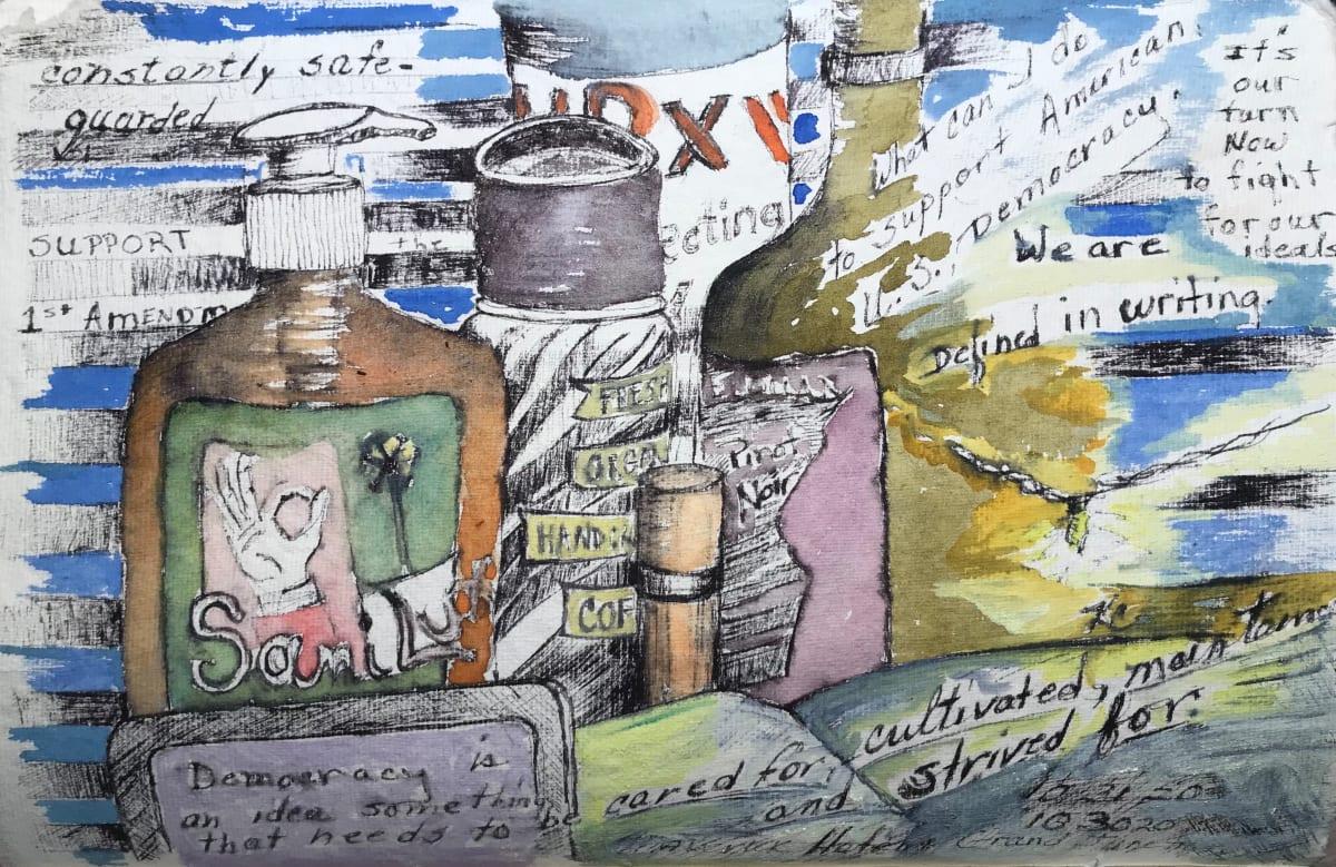 686- Still Life & Democracy by Katy Cauker