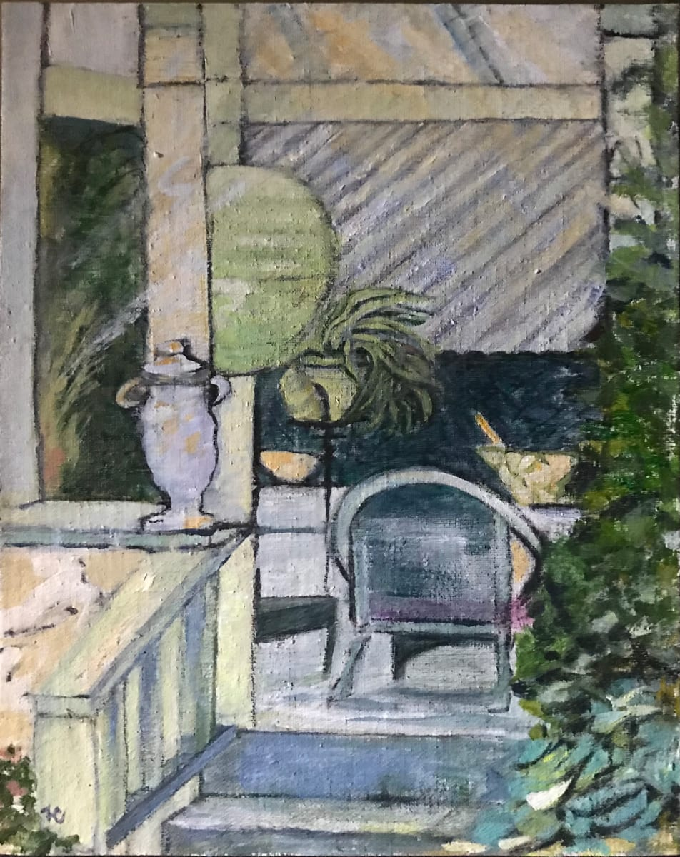 679- Rogue Gallery - Porch Haven 2/ Baldessare's by Katy Cauker