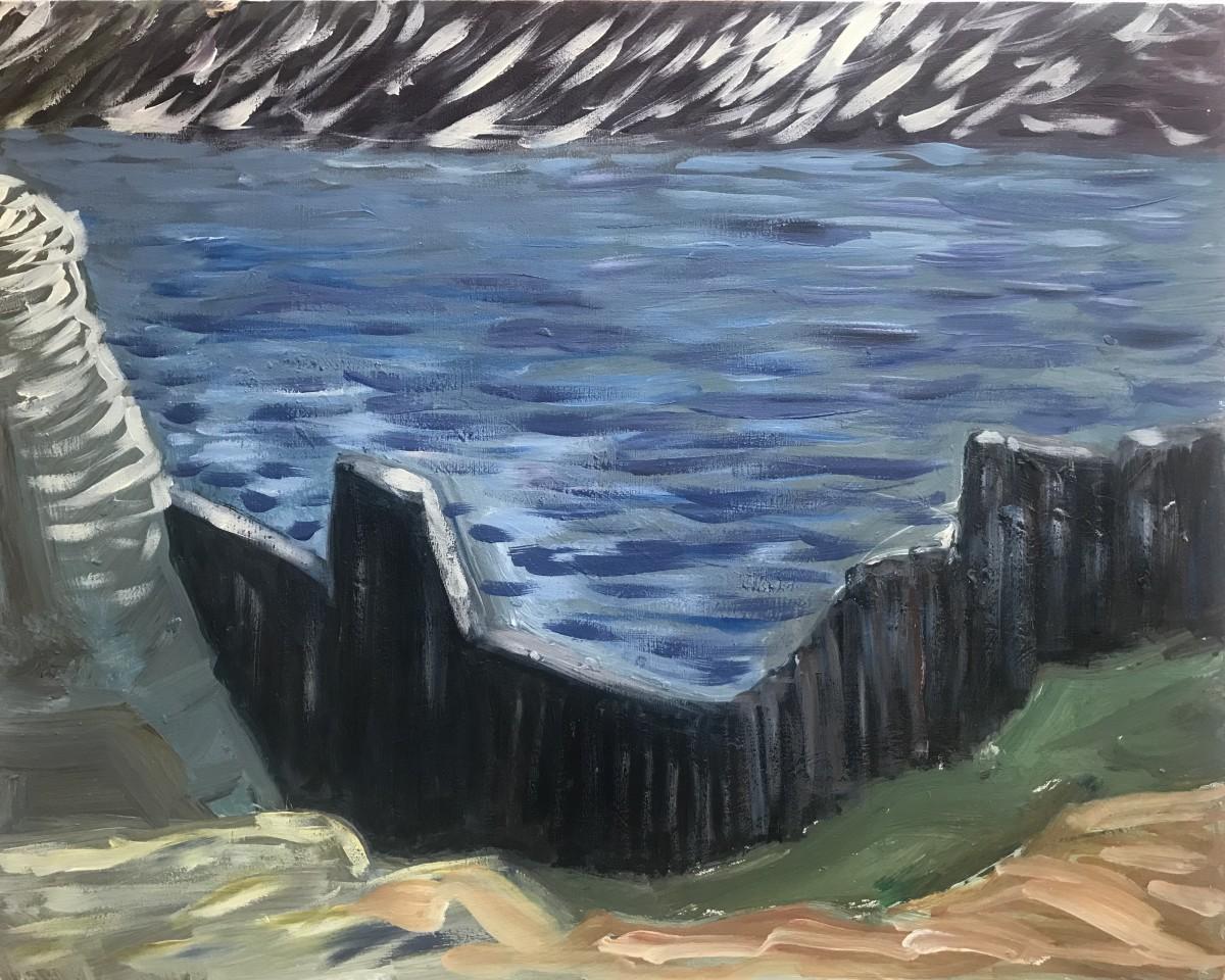 085 - Stone Cliffs View West Seal Rock
