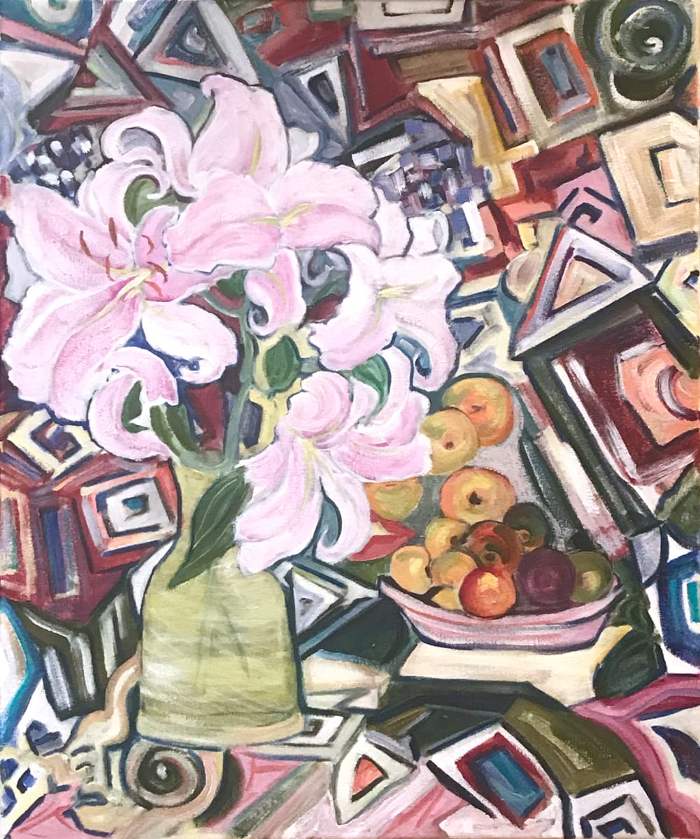 453- Modern Lily: Art Presence Jacksonville by Katy Cauker