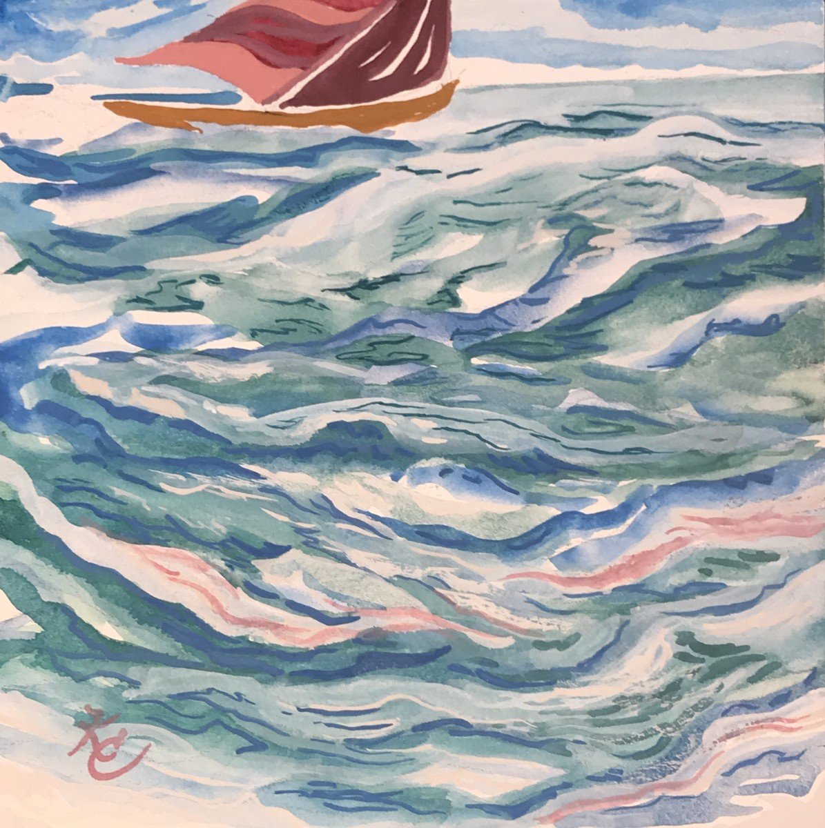 252 - Swimming in the Aquamarine