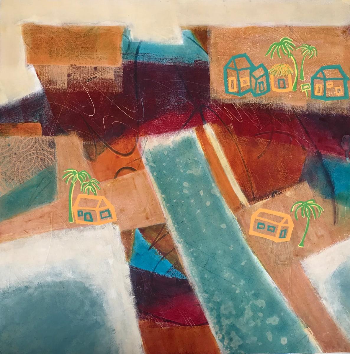 """""""Beach Town"""" by Mari O'Brien"""