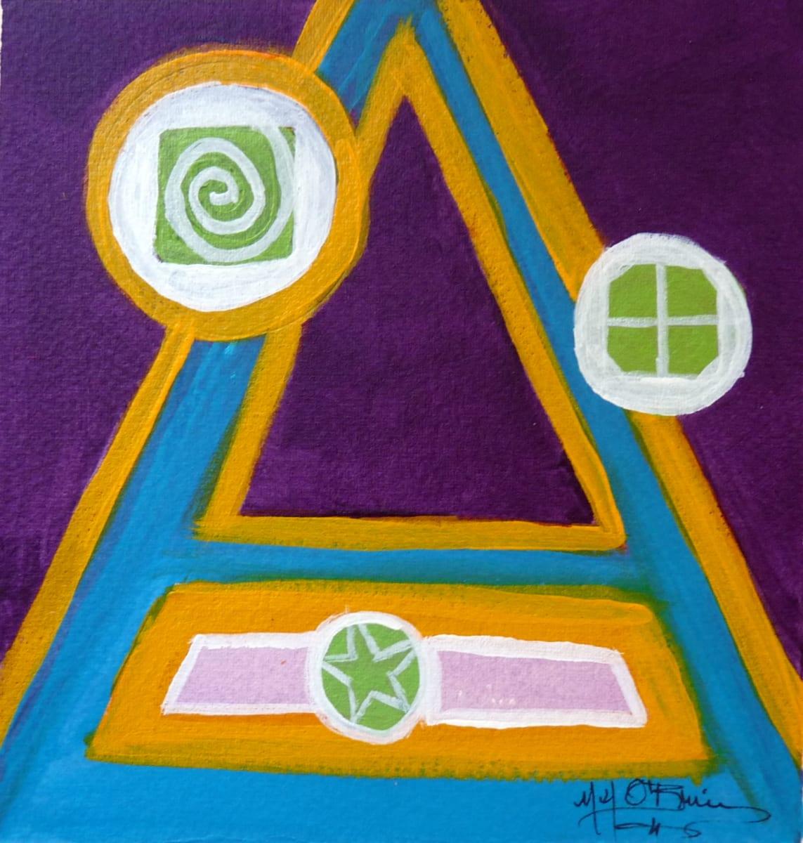 Four Colors III by Mari O'Brien