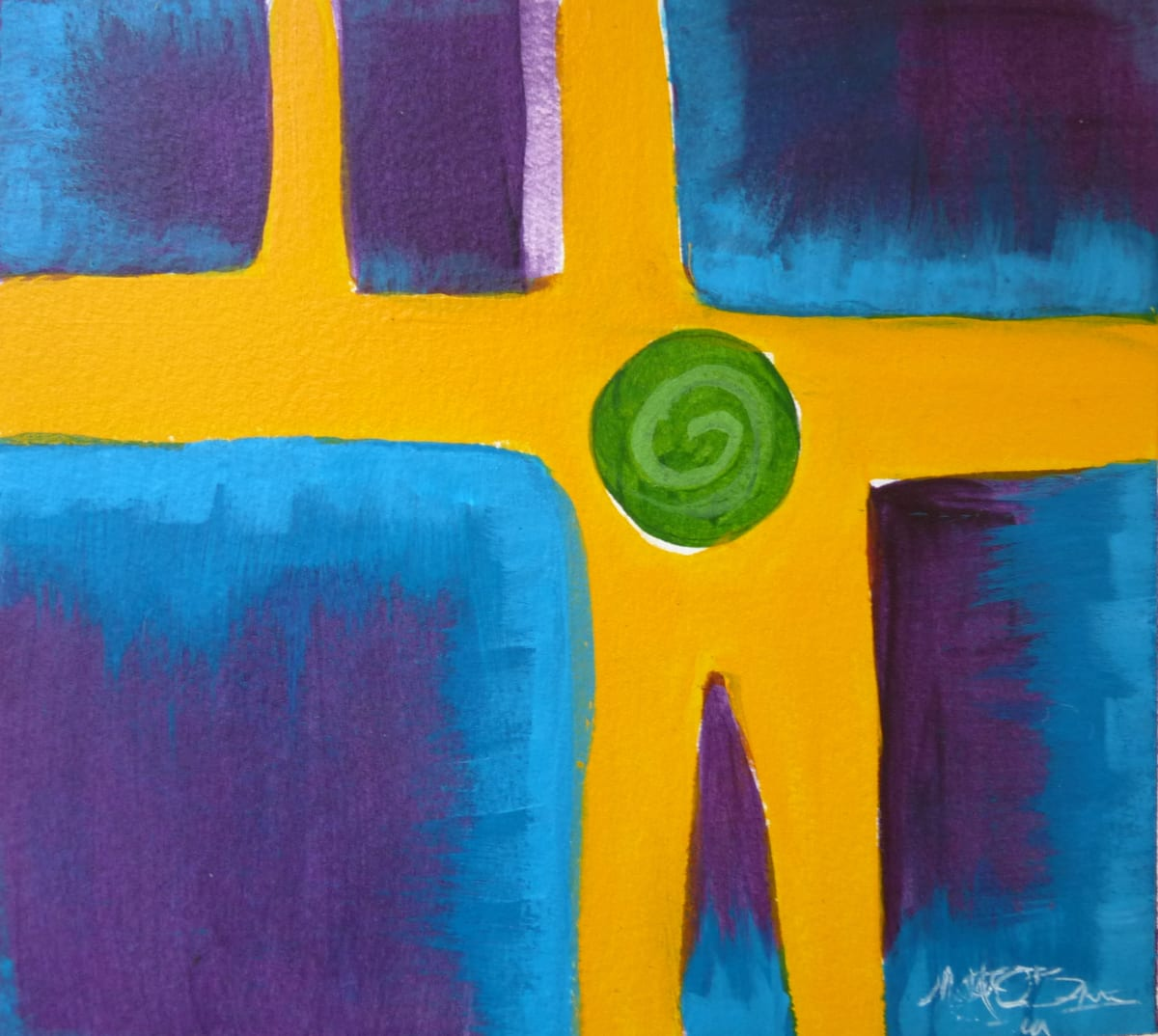 Four Colors II by Mari O'Brien