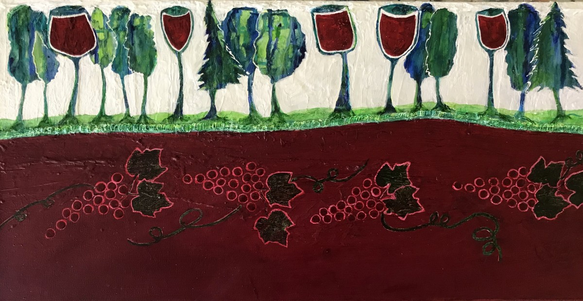 """""""Welcome to Pinot Country"""" by Mari O'Brien"""