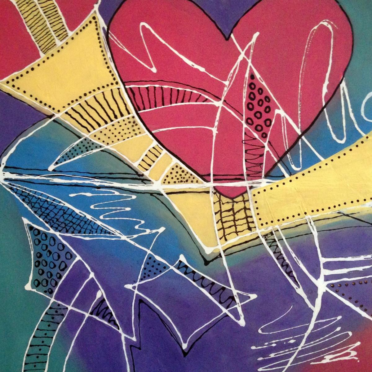 Techno Heart on My Sleeve by Mari O'Brien
