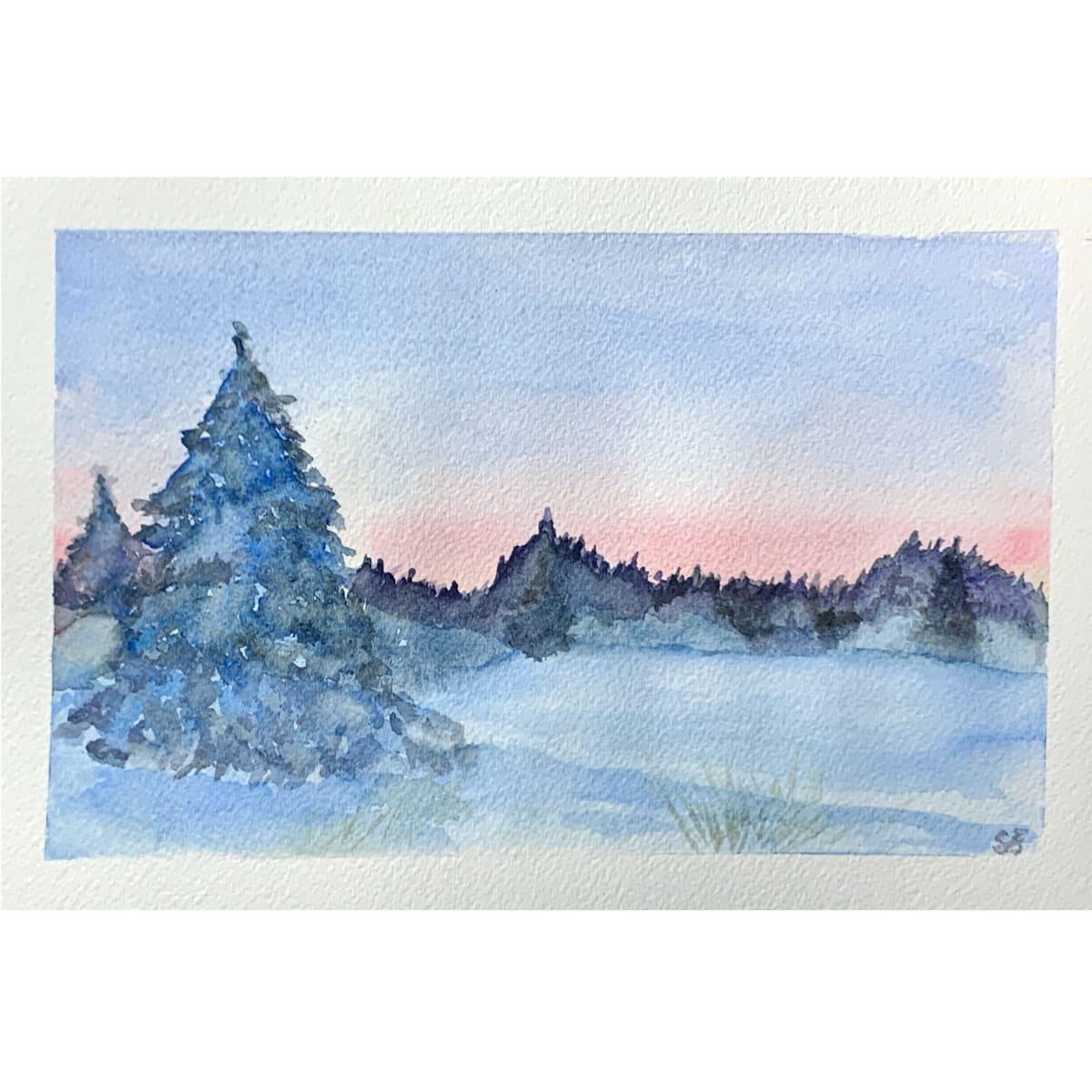 Blue Christmas by Susi Schuele