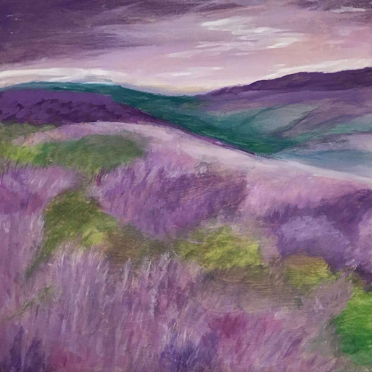Purple Heather by Susi Schuele