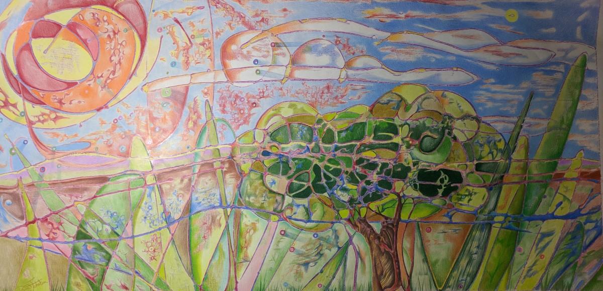 Sunny daze-energized landscape II
