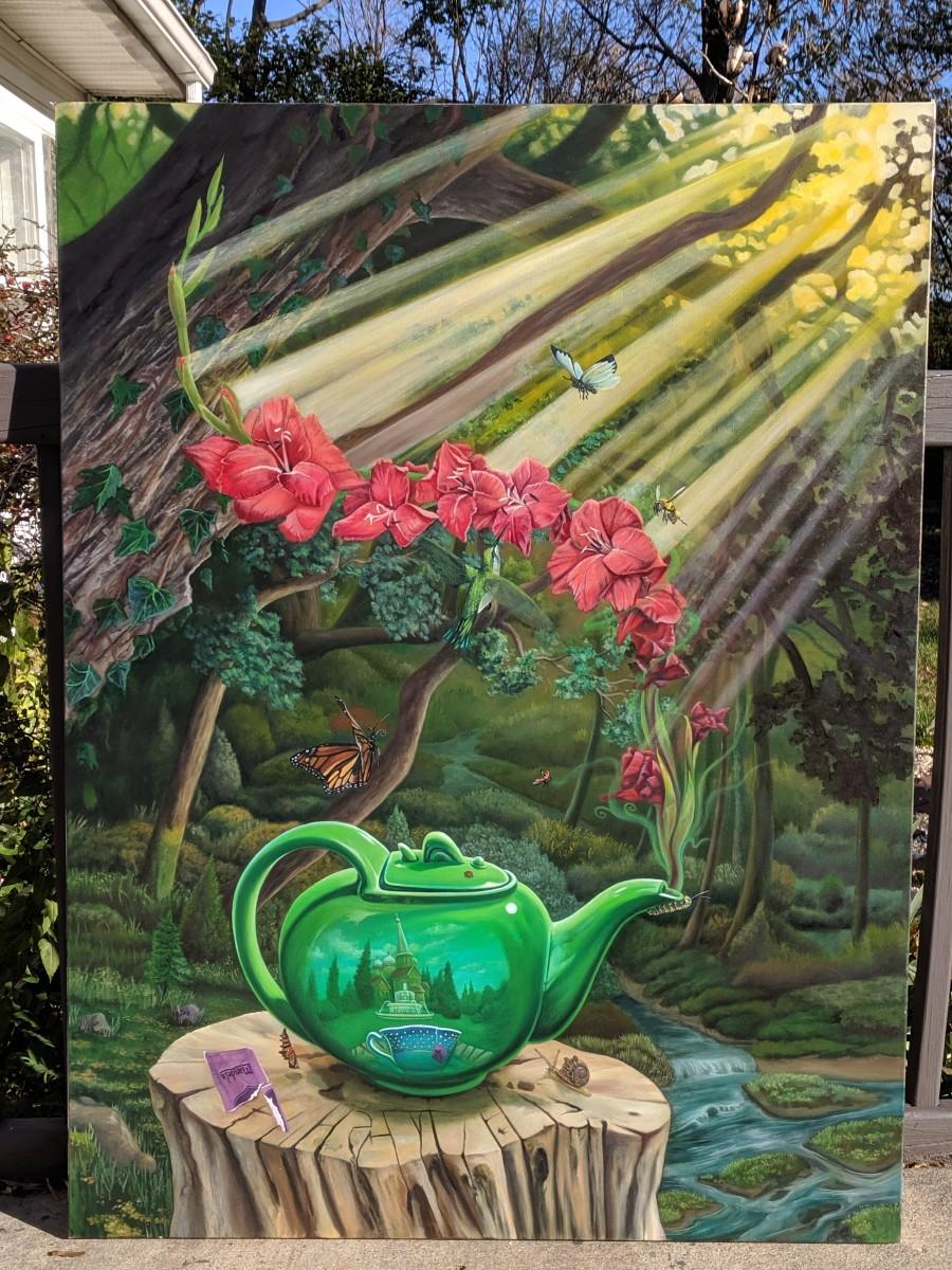 in-Sani Tea - Mandela Blend with hint of Gladiola blossom